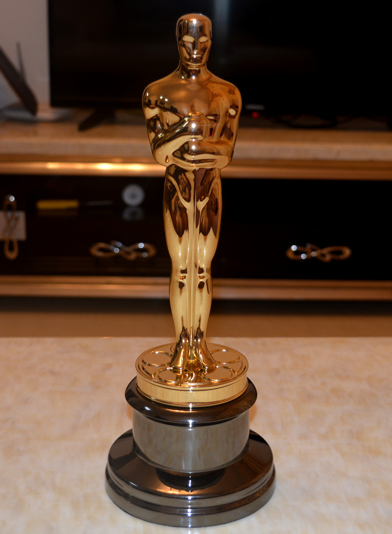 New Arrival High Quality 1:1 Sclae Academy Award Oscar Statue,Oscar Trophy, Zinc Alloy Replica Oscar Trophy,