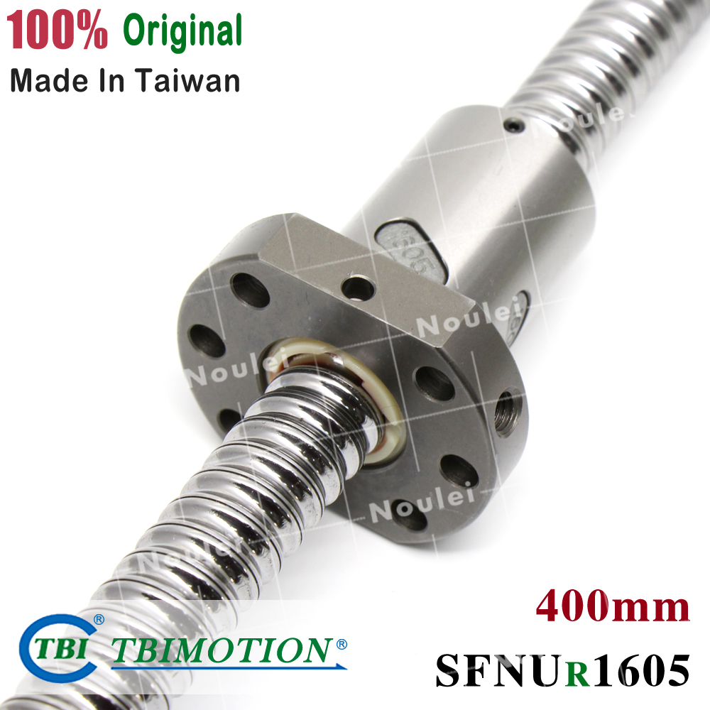 TBI 5mm Lead C7 1605 Ballscrews, BK12 BF12 Ballscrew 400mm+Ballnut SFU1605 SFNU1605 SFV1605 SFI1605 SFS1605 for cncTBI 5mm Lead C7 1605 Ballscrews, BK12 BF12 Ballscrew 400mm+Ballnut SFU1605 SFNU1605 SFV1605 SFI1605 SFS1605 for cnc
