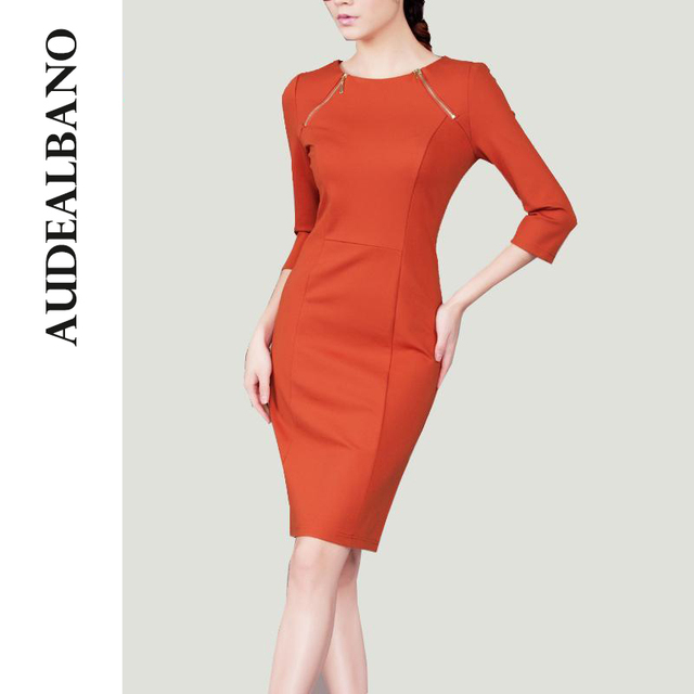 Atni-high-quality-Plus-Size-Summer-Women-Cotton-Vintage-Three-Quarter-Sleeve-Bodycon-Dress-Elegant-Formal.jpg_640x640.jpg