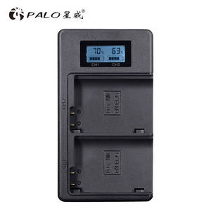 PALO EN-EL15 LCD Display Rechargeable Li-ion Battery Charger comes with USB for Nikon