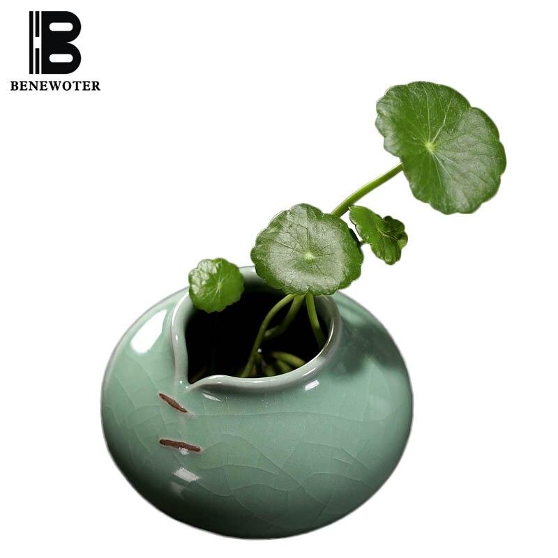 BENEWOTER Longquan Creative Home Decor Mini Keramický Celadon - Dekorace interiéru
