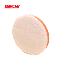 Microfiber Wax Applicator Sponge Polishing Buff Pad Remove Moderate Paint Car Care Marflo Brilliatech