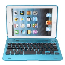 New 2in1 For iPad Mini 1 2 3 Bluetooth 3.0 Wireless Keyboard Case Cover Dustproof Foldable Stand Cover Case Holder