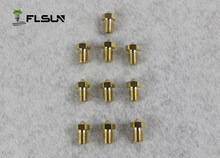 10pcs/lot 3D Printer Nozzle Mixed Sizes 0.4mm Print Head For 1.75MM filament(China)