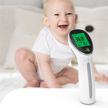 Baby Digital Thermometer Infrared Forehead Body Thermometer Non-Contact Temperature Measurement