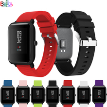 20mm sport silicone Wristband for For Huami Amazfit Youth Bit smart watch strap Samsung Gear S2 band Accessories