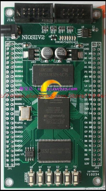 free shipping   ALTERA EP2C8 FPGA core board with SDRAM SRAM FPGA development board