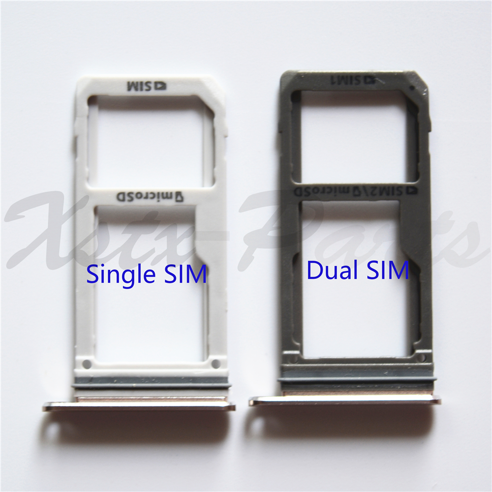Galaxy S7 Sim Karte.Us 1 0 Neue Dual Sim Einzelne Sim Micro Sd Karte Halter Fur Samsung Galaxy S7 G930f S7 Rand G935f Oem Sim Karte Tray Slot Ersatz Teil In