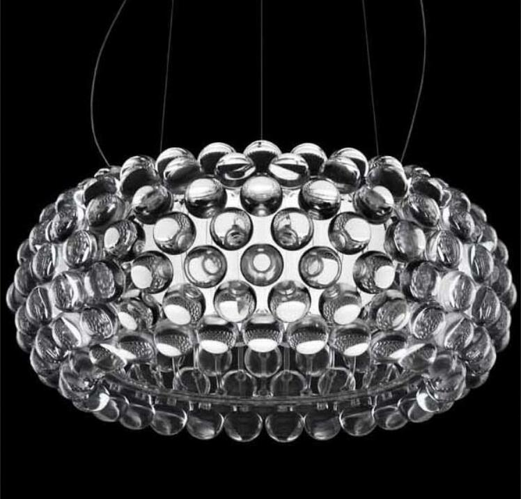NEW LED Bulb Modern 35/50cm Foscarini Caboche Ball Golden Pendant Lamp