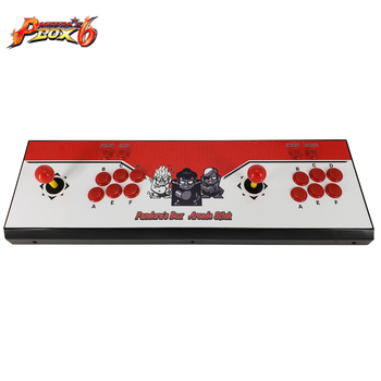 1300 games console/ Pandora Box 6 arcade board/ joystick game controller/ VGA and HIDM output 2019 new king of fighters joystick consoles with multi game pcb board 1300 in 1 pandora box 6 arcade joystick game console