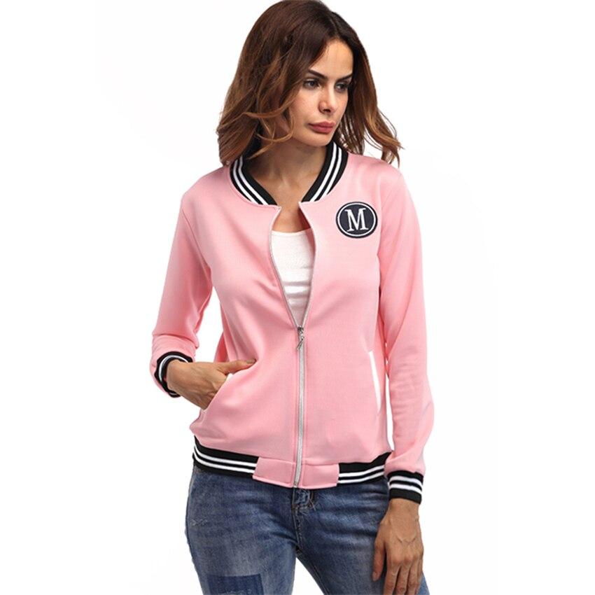 Women's   Jacket   2018 Autumn   Basic     Jackets   Bomber Casaco Feminino Inverno Coats And   Jackets   Women Zipper Jaqueta Feminina Ceket