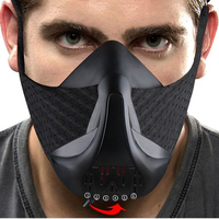 AGEKUSL W Training Mask 3.0 Sport Exercise Fitness Cycling Face Mask Workout Bike Running Resistance Elevation Endurance Masks