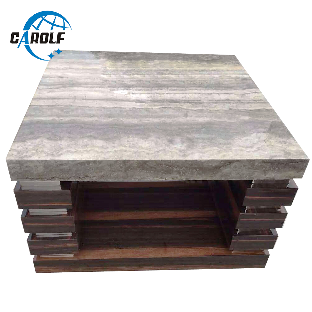 - Modern Lamp Table Living Room Sofa Corner Side Table Square Wooden Side  Table With Marble Top|Coffee Tables- AliExpress