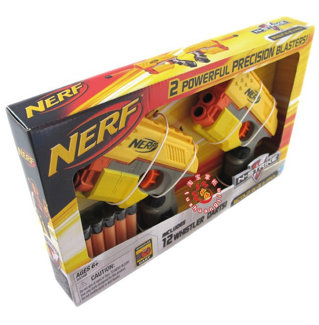 Image is loading NERF-Doomlands-C2541-Persuader-Blaster-2-Pack-with-