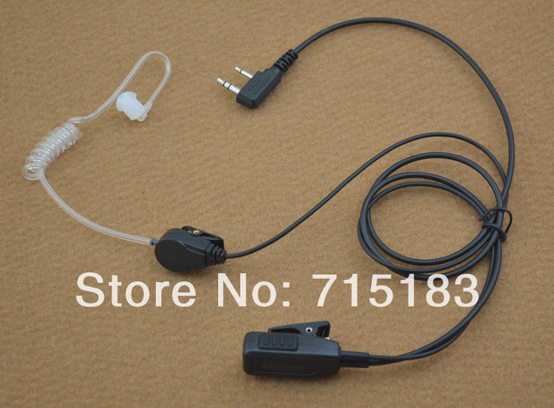 Original Kirisun KME-009 Air-Tube Acoustic Earpiece-Mic with PTT for Kirisun PT5200 PT4200 PT260 PT3600 PT558 PT558SOriginal Kirisun KME-009 Air-Tube Acoustic Earpiece-Mic with PTT for Kirisun PT5200 PT4200 PT260 PT3600 PT558 PT558S