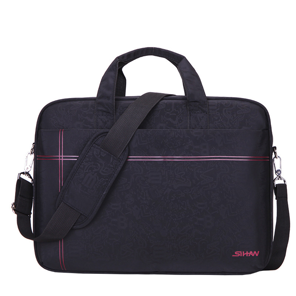 Luxury Nylon Waterproof 14 15.6 inch Notebook Computer Laptop Sleeve Bag Men Women Cover Case Briefcase Shoulder Messenger Bag