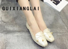 2017 Spring Summer new arrival women single shoes Flat  heel moccasins soft bottom Dress Office Shoes ballet flats women Loafers