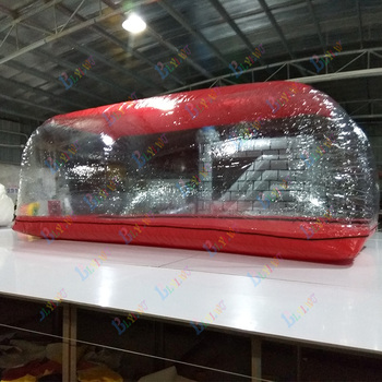 Pvc outdoor indoor inflatable car capsule cover tent inflatable dustproof transparent tent car Showcase цена 2017