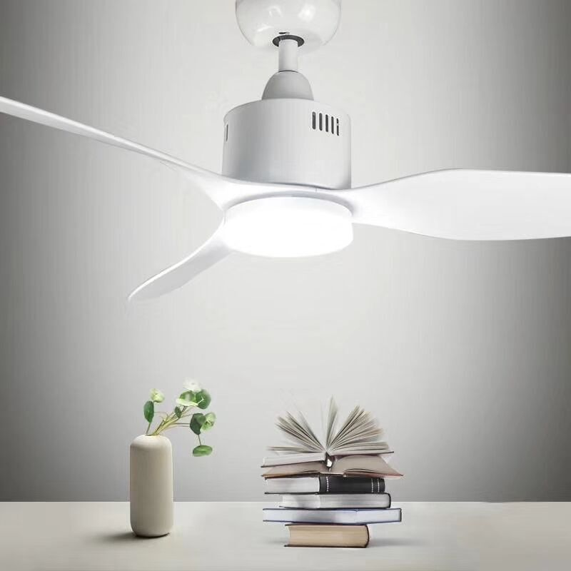 High quality nordic creativity ceiling fans dc110v 220v - Bedroom ceiling fans with remote control ...
