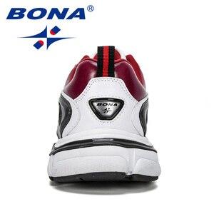 Image 3 - BONA 2019 ออกแบบใหม่ผู้ชายรองเท้าวิ่งกีฬารองเท้ากลางแจ้งรองเท้าผ้าใบ Trainers Zapatos De Hombre รองเท้าชาย