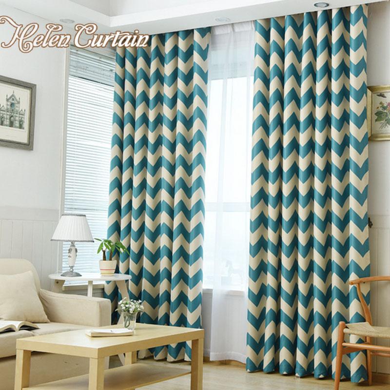 oscuras modernas cortinas de rayas colores grueso cortinas cortinas para la sala de nios