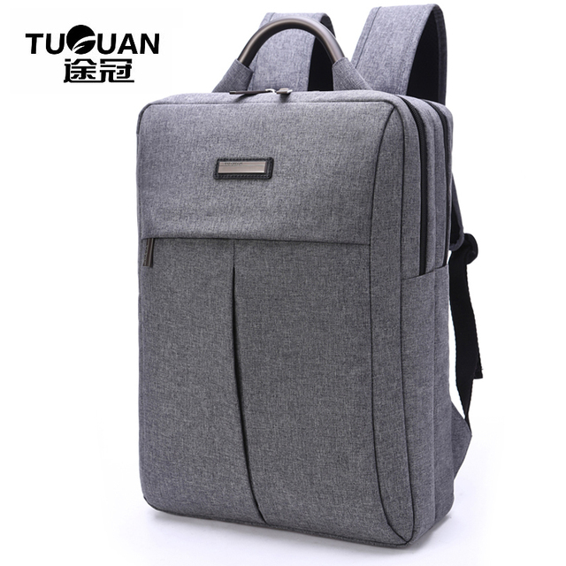 2017 TUGUANG Brands Fashion School Bag Women Men Business Laptop ...