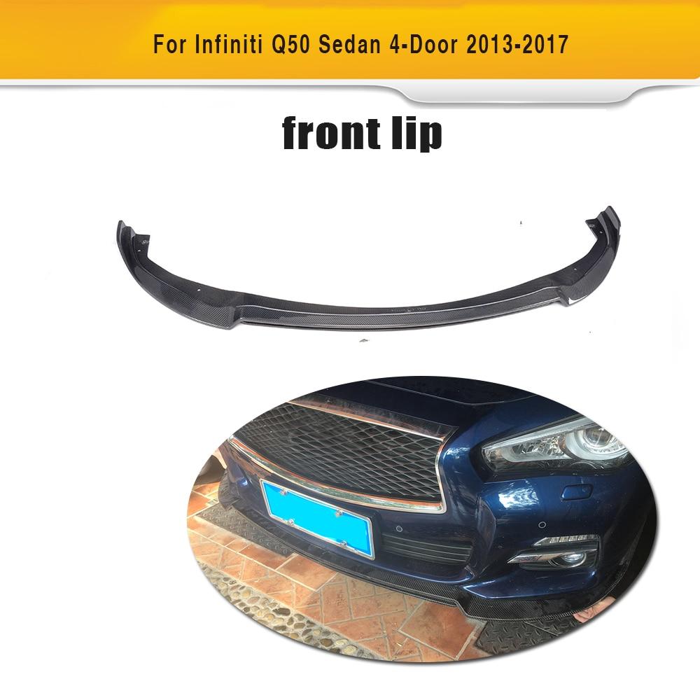 Углеродное волокно авто спойлер антикрыло на крышу для Infiniti Q50- автомобильный стикер, спойлер