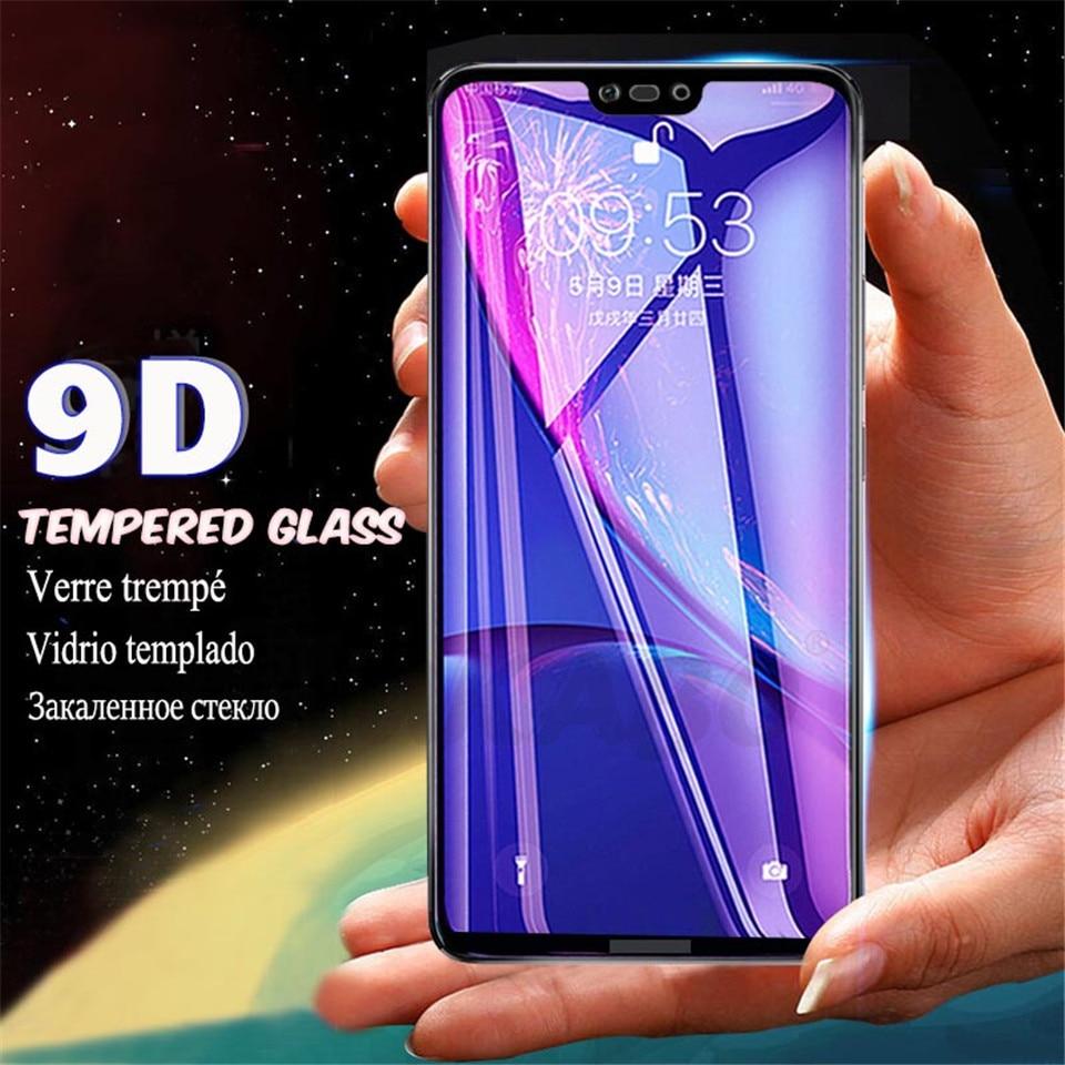 Купить 2pcs 9D полное покрытие закаленное стекло для huawei mate 20 Pro P20 Lite стекло P Защита экрана смартфона пленка для huawei mate 10 Lite на Алиэкспресс