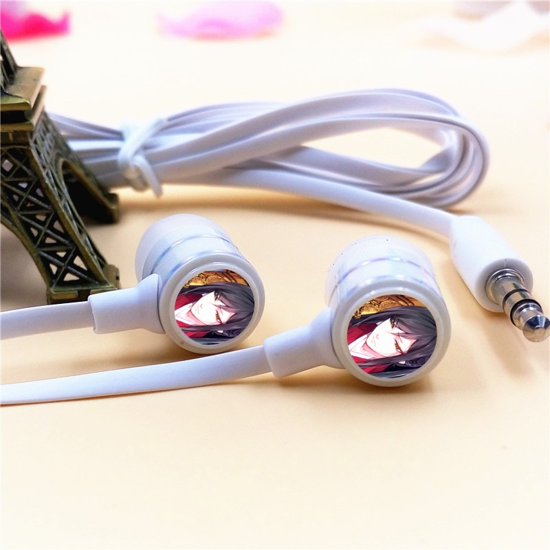 Anime Touken Ranbu Online Taroutachi In-ear Earphone 3.5mm Stereo Earbud Phone Music Game Headset for Iphone Samsung MP3 Player