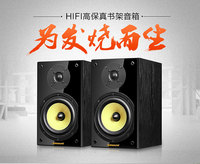 HIFI sound Amplifier quality Middle bass 6.5 inch bullet head speaker + 3 inch high voice speaker combination Nobsound NS 2000