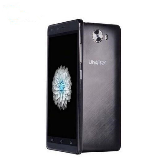 Original Uhappy V5 5.0 Inch Mobile Phone MTK6580 Quad Core Android 5.1 outdoor mobile Dual SIM 3G GPS Smartphone 1GB RAM 8GB ROM