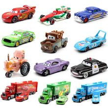24Style Disney Pixar Cars 2 Storm Cars 3 Mater Vehicle 1:55 Diecast Metal Alloy Toys Model Car Birthday Gift Toy For Kids Boy new arrival pj masks vehicle characters slide cars catboy owlette gekko cloak action figure toys boy birhday gift for kids flyer