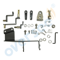 OVERSEE 63V 48501 00 Remote Control Attachment Kit Replaces For Yamaha Parsun 9.9HP 15HP Outboard remote control