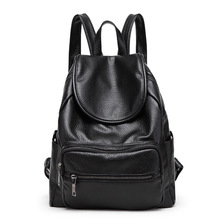 High Quality Backpack Designer PU Leather Vintage Style Brand Fashion School Bags Large Capacity Backpacks Travel Bags mochila