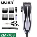 LILI Electric Haircut Professcinal Titanium Steel Blade Hair Clipper Hair Shaving Trimmer Barber Hairdress Machines ZM-703