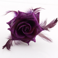 Rose flower hair brooches/Korean luxury brand fashion jewelry women wedding dress accessories /broches boutonnieres/corsages