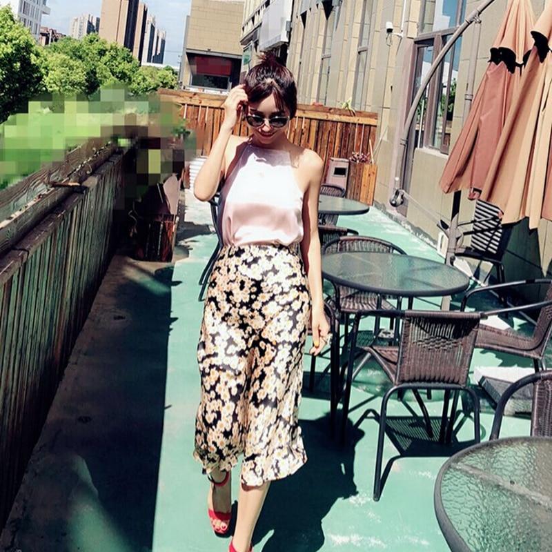 Summer 19 kawaii boho bodycon leopard print high waist skirts womens midi leopard skirt punk streetwear korean style 16