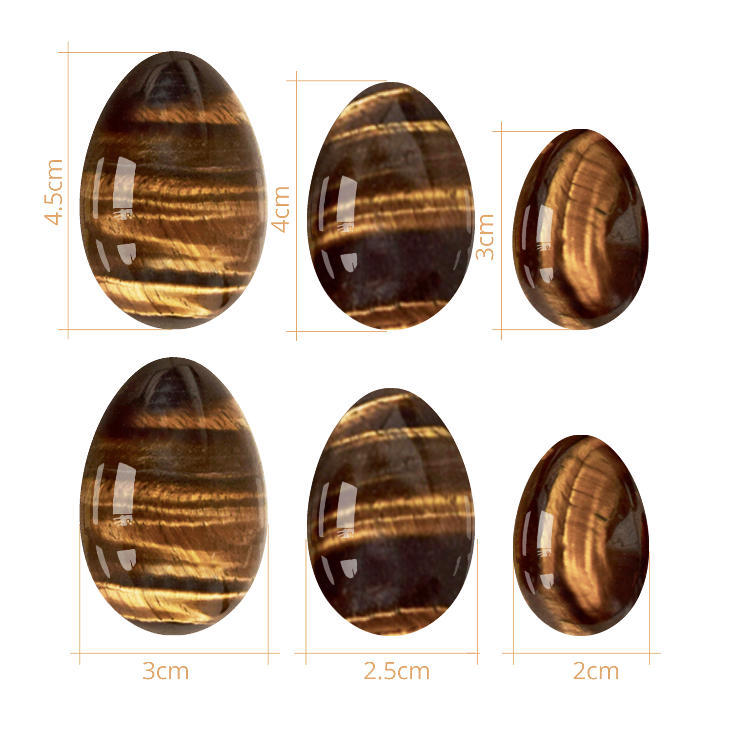 Image 5 - RUITONG Yoni Egg Set Natural Tiger Eye Stone Drill Yoni Set Mineral Quartz Healing Massage Egg Kegel Exercise Yoni Massage Tools-in Massage & Relaxation from Beauty & Health