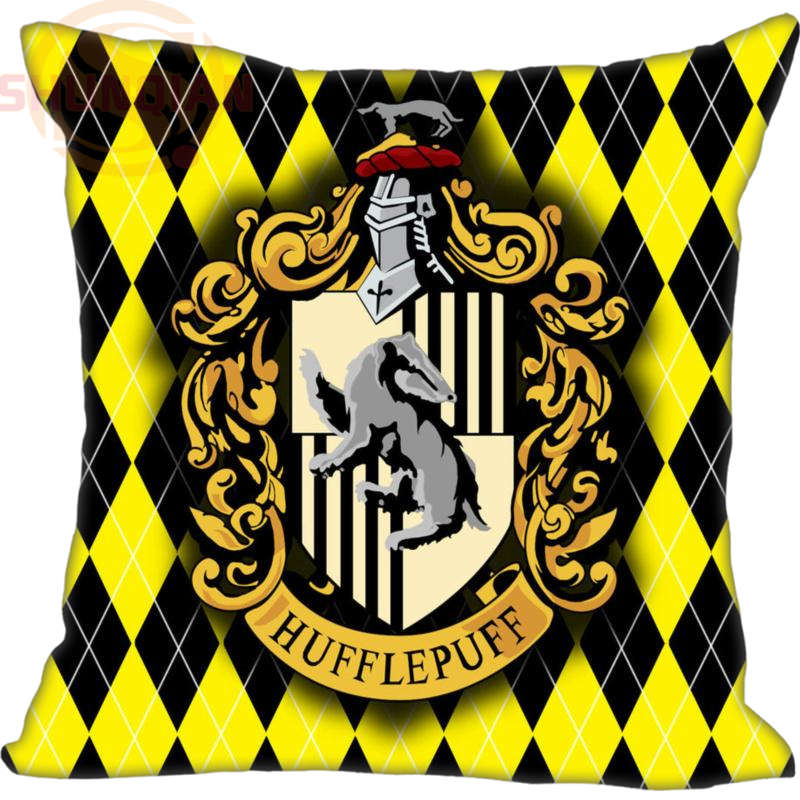 Custom Pillowcase Harry Potter Hogwarts School Sign Square Zippered Pillow Cover Print Your own image 20X20cm,35X35cm(one side)