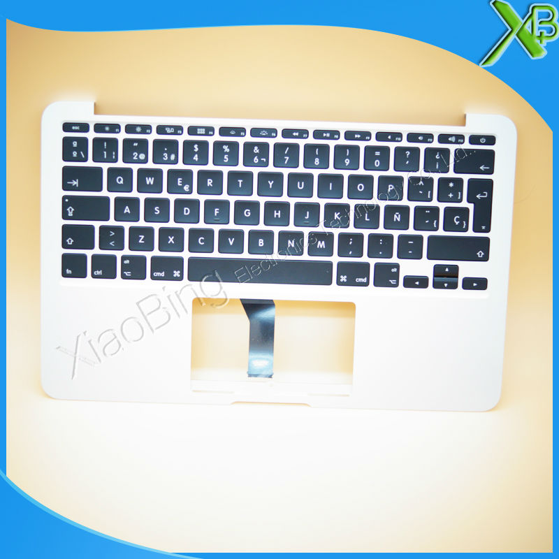 New TopCase with SP Spanish Keyboard for MacBook Air 11.6 A1465 2013-2015 years new topcase with no norway norwegian keyboard for macbook air 11 6 a1465 2013 2015 years