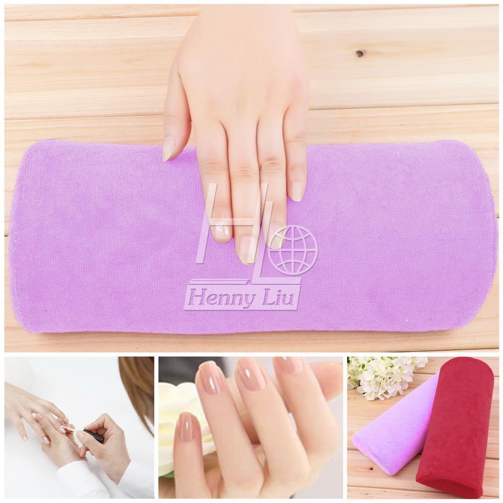 Handauflagen VertrauenswüRdig 1 Pc Halb Hand Kissen Rest Kissen Nail Art Design Maniküre Pflege Salon Weichen Spalte Schönheit & Gesundheit