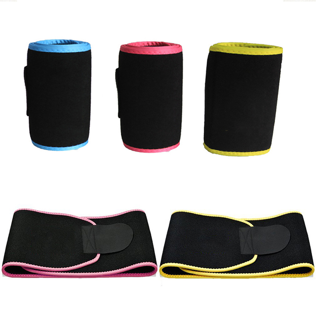 1 Pcs Lumbar Waist Support Waist Trimmer Belt Unisex Exercise Weight Loss Burn Fat Shaper Gym Fitness Sweat Belt For Men Women 3