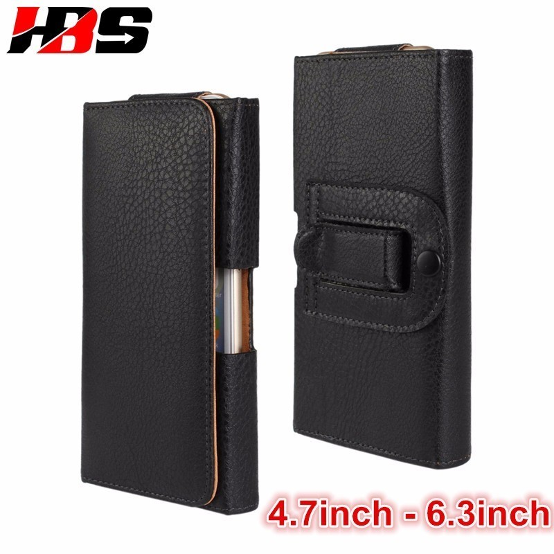 Phone Case For Samsung Galaxy A3 A5 A6 A7 A8 A9 2018 A10 With Belt Clip Waist Pouch Horizontal Holster Bag Leather Cover Coque