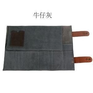 Image 3 - Парикмахерская из натуральной кожи, 12 отделений