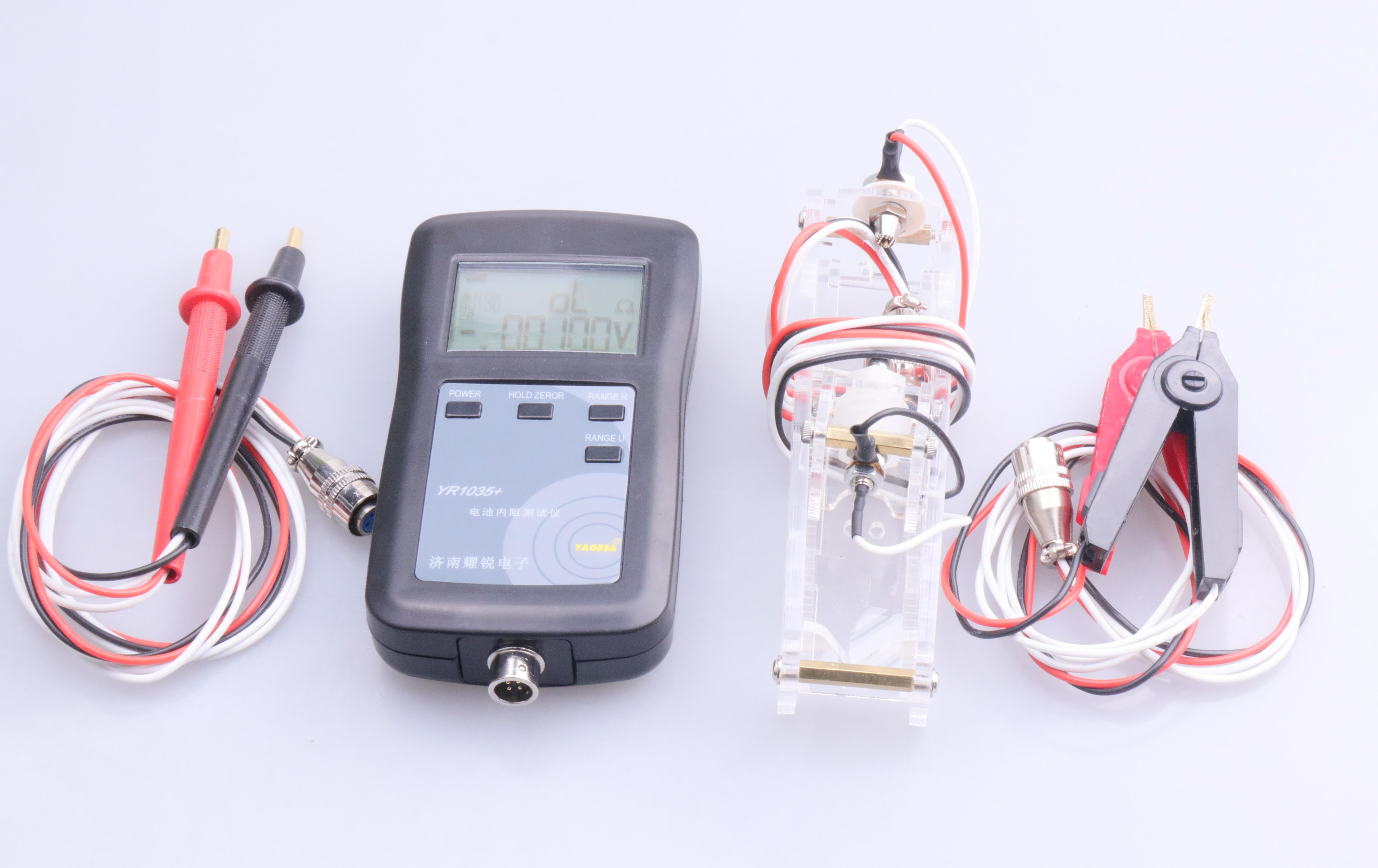 YR1035 4 Line High Precision Battery Internal Resistance Tester Instrument New