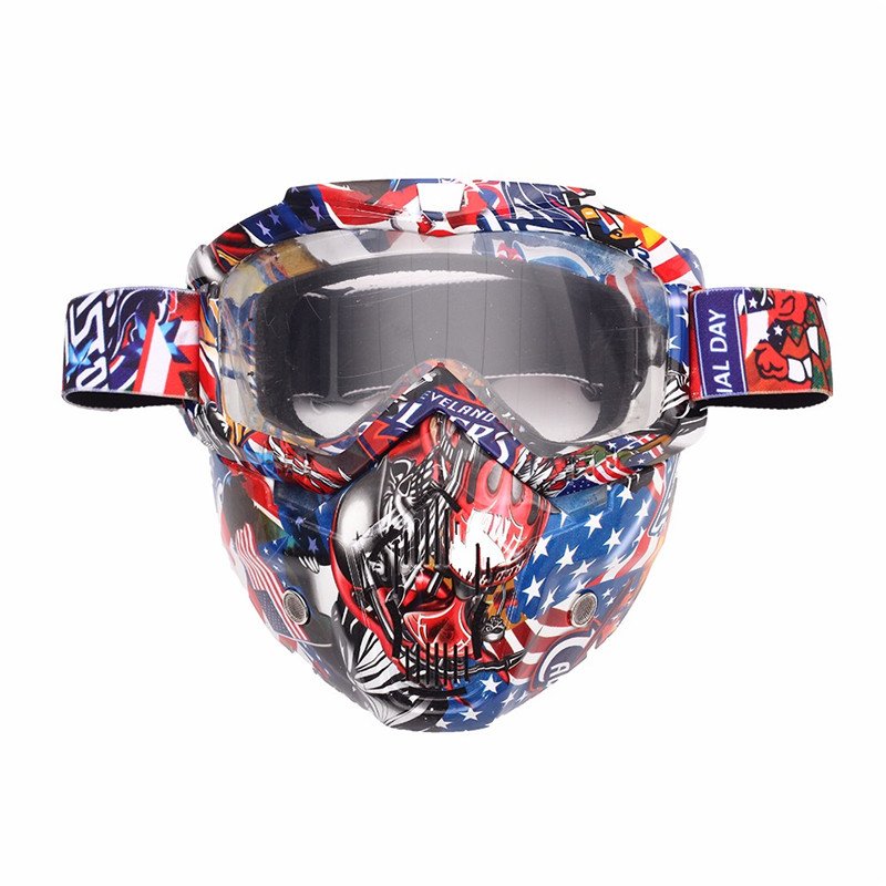 Tactical Hunting Face Mask Airsoft Paintball Gear Motorcycle Ski Cycling Protect Breathable comfort Full Face Mask