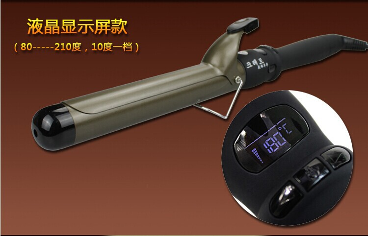 Styling tools Professional Hair curler roller curling iron machine LCD Ceramic 30s heating Nano titanium Diameter