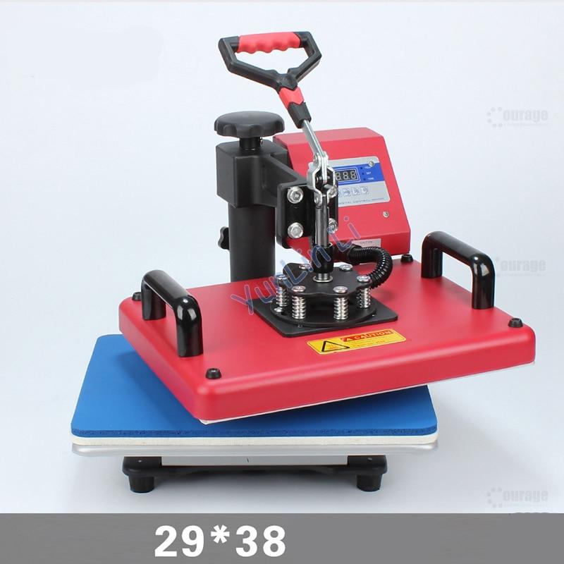 T-Shirt Heat Transfer Machine 30*38cm Phone Shell/ Tshirt Heat Press Machine/ Shaking Head Heat Transfer Sublimation Machine