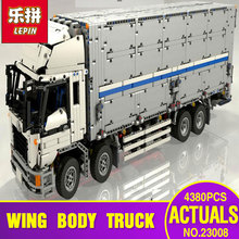 Lepin 23008 4380Pcs New Technical Series The MOC Wing Body Truck Set 1389 Educational Building Block