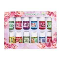 12 аромат 3 мл/коробка чистый Ароматерапия Эфирные масла Уход за кожей для ванной массаж Красота двунаправленный баланс